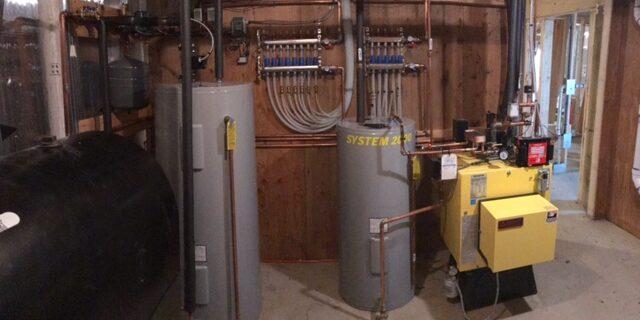 system 2000 boiler install 4